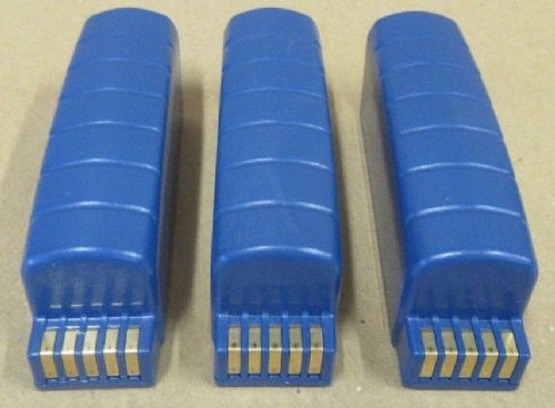 3Original Vocollect Rechargeable Lithium 3.7V 9Whr 2400mAh Battery BT-901 730045